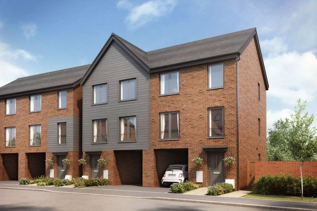 """Thumbnail Semi-detached house for sale in """"The Cheswick"""" at Shepherds Green Road, Shirley, Solihull"""