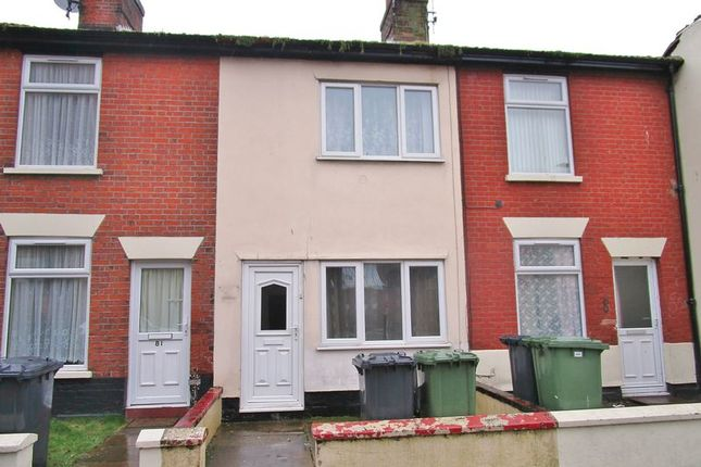 Thumbnail Terraced house to rent in Albion Road, Great Yarmouth
