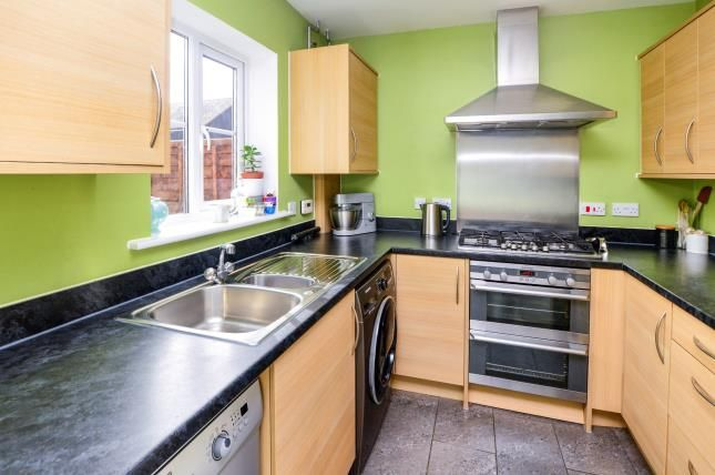 Thumbnail End terrace house for sale in Herdwick Close, Kingsnorth, Ashford, Kent