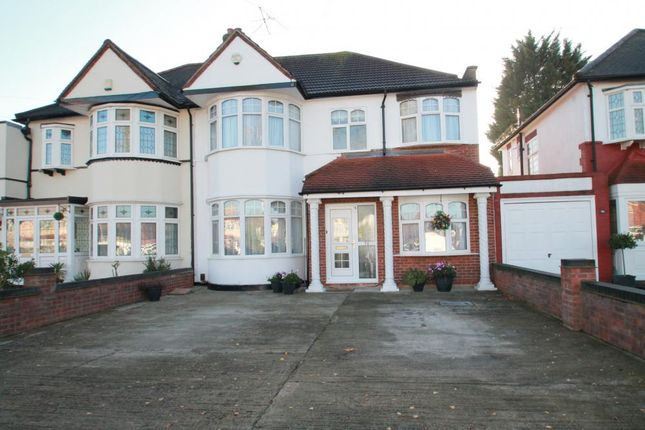 Thumbnail Semi-detached house for sale in Marlands Road, Clayhall, Ilford