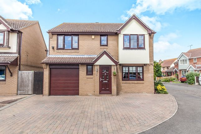 Thumbnail Detached house for sale in Wick Farm Road, St. Lawrence, Southminster