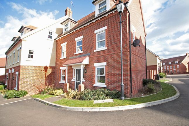 Thumbnail End terrace house to rent in Hebbes Close, Kempston, Bedford