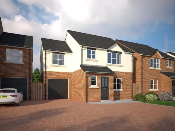 Thumbnail Detached house for sale in The Common, Knowle Lane, Buckley, Flintshire