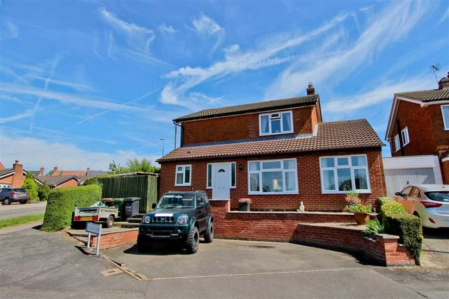 Thumbnail Detached house for sale in Hazelhead Road, Anstey, Leicester