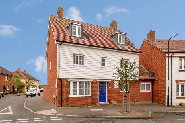 Thumbnail Link-detached house for sale in Poppymead, Park Farm, Ashford