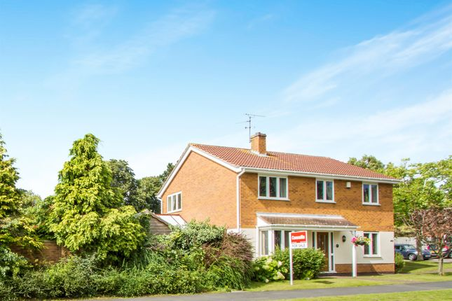 Thumbnail Detached house for sale in The Pastures, Narborough, Leicester