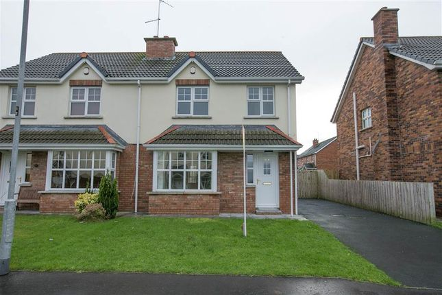 Thumbnail Semi-detached house to rent in Carrigart Crescent, Craigavon