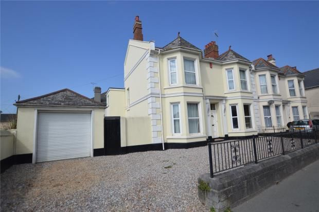 Thumbnail Semi-detached house for sale in Alma Road, Plymouth, Devon