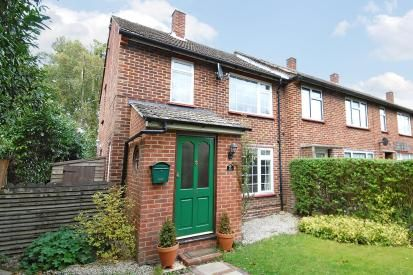 Thumbnail End terrace house for sale in Lightwater, Surrey