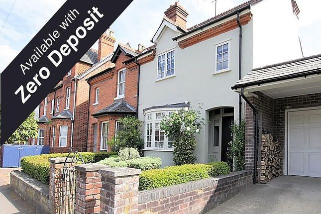 Thumbnail Terraced house to rent in Thames Avenue, Pangbourne, Reading