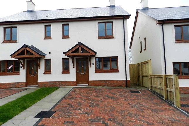 Thumbnail Semi-detached house for sale in Plot 3, Phase 2, The Roch, Ashford Park, Crundale