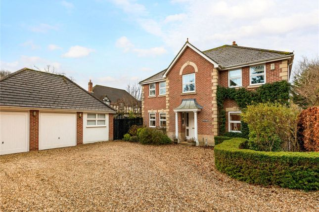 Thumbnail Detached house for sale in Slade Hill Gardens, Woolton Hill, Newbury, Hampshire