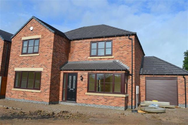 Thumbnail Detached house for sale in Kingsley Road, Werrington, Stoke-On-Trent