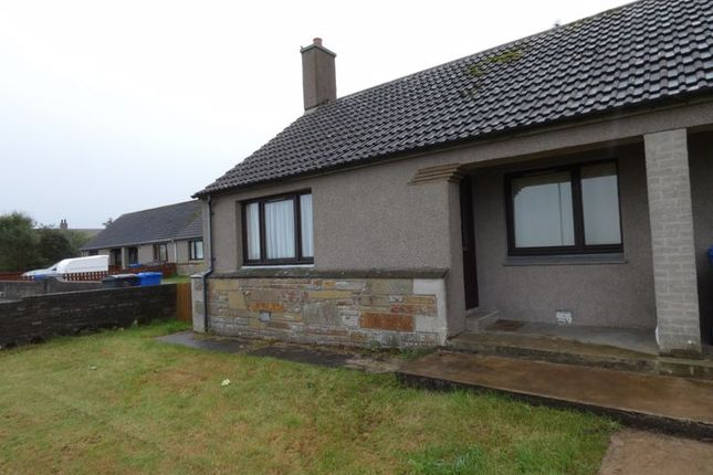 Thumbnail Semi-detached bungalow for sale in Stewart Crescent, Thrumster, Wick