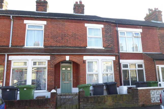 Thumbnail Terraced house to rent in Walpole Road, Great Yarmouth
