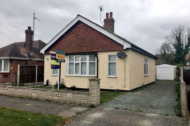 Thumbnail Detached bungalow for sale in Salisbury Road, Clacton-On-Sea