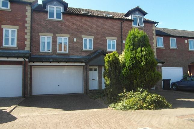 Thumbnail Town house for sale in Guardians Court, North Road, Ponteland, Newcastle Upon Tyne