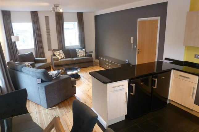 2 bed flat to rent in Duesbury House, 220 Siddals Road, Derby DE1