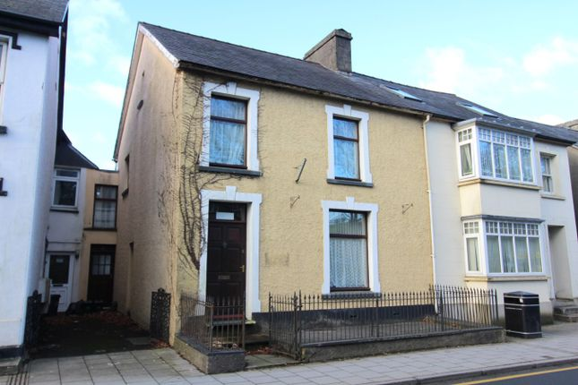 Thumbnail Terraced house for sale in College Street, Lampeter