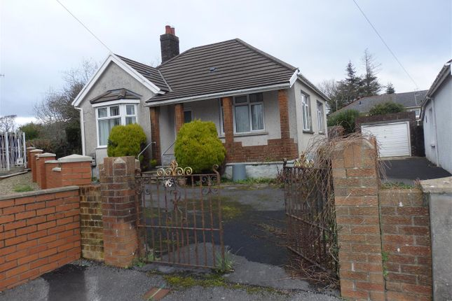 Thumbnail Detached bungalow for sale in Waun Road, Llanelli