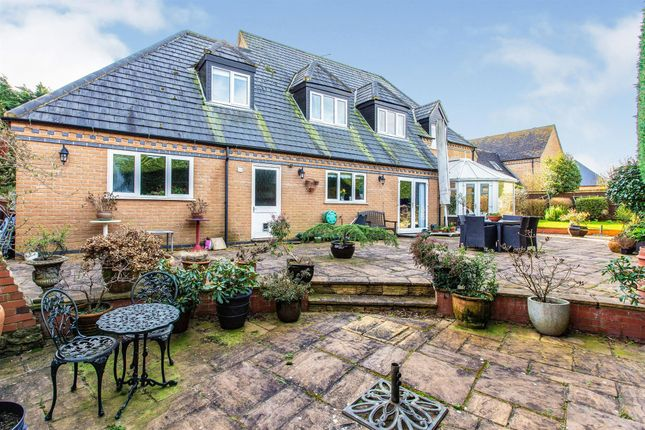 Thumbnail Detached house for sale in Riverview Gardens, Denford, Kettering