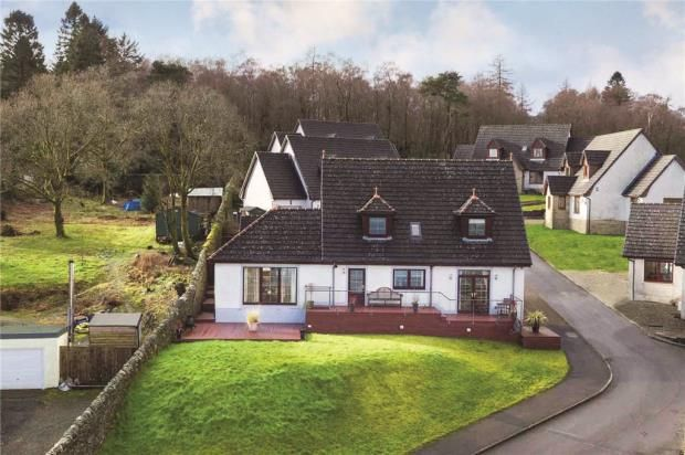 Thumbnail Detached house for sale in Eccles Road, Hunters Quay, Dunoon, Argyll And Bute