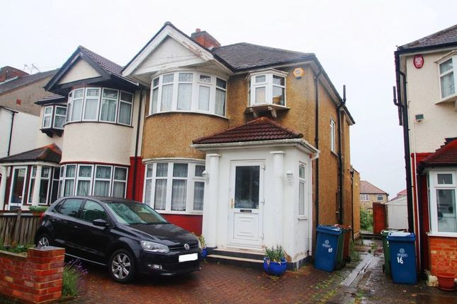 Thumbnail Semi-detached house for sale in Clifton Avenue, Stanmore