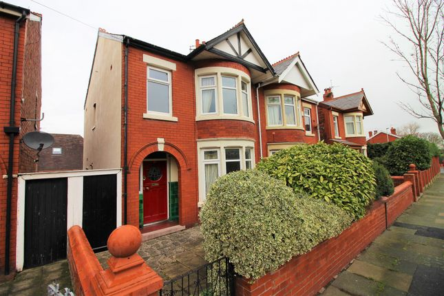 Thumbnail Semi Detached House To Rent In Beechfield Avenue Blackpool Lancashire