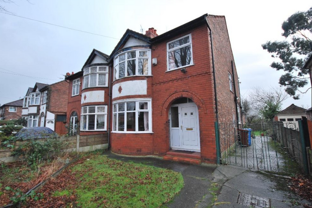 Thumbnail Semi-detached house for sale in Old Hall Lane, Manchester, Greater Manchester