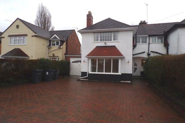 Thumbnail Semi-detached house to rent in Orchard Road, Erdington, Birmingham