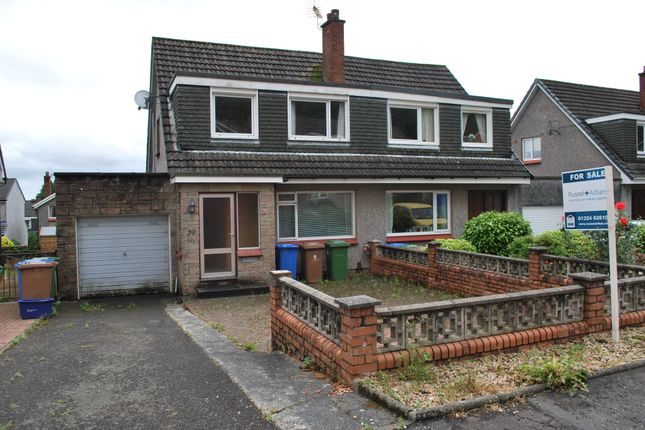 Thumbnail Semi-detached house for sale in Princes Crescent, Dollar