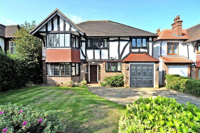 Thumbnail Detached house for sale in Woodbury Drive, Sutton