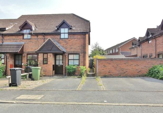 Thumbnail End terrace house to rent in Elgar Close, Ledbury