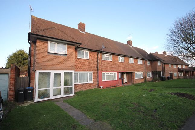 Thumbnail End terrace house for sale in Palmers Lane, Enfield