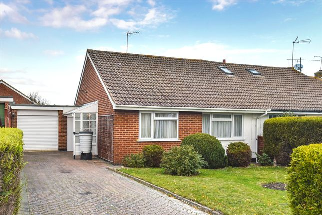 Thumbnail Semi-detached bungalow to rent in Swallow Close, Yateley, Hampshire