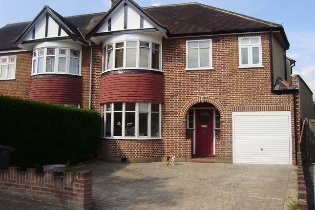 Thumbnail Semi-detached house for sale in Conway Gardens, Enfield