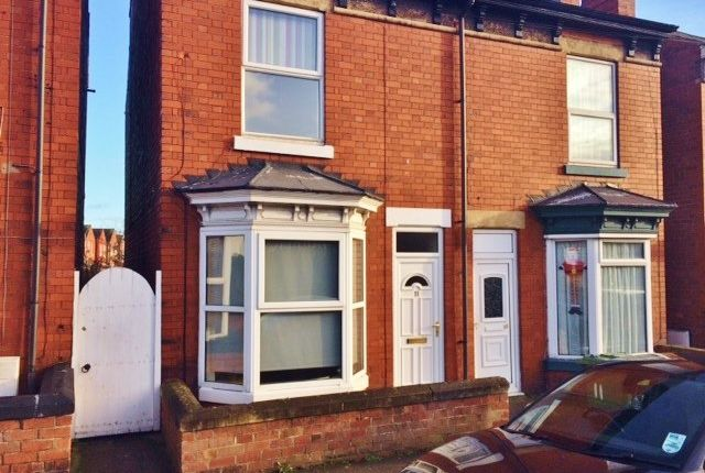 Thumbnail Semi-detached house to rent in Priorswell Road, Worksop, Nottinghamshire