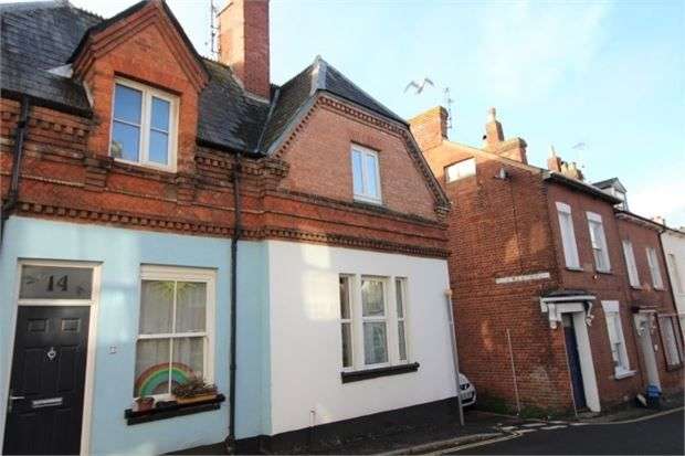 Thumbnail Cottage to rent in North Street, Exmouth, Devon