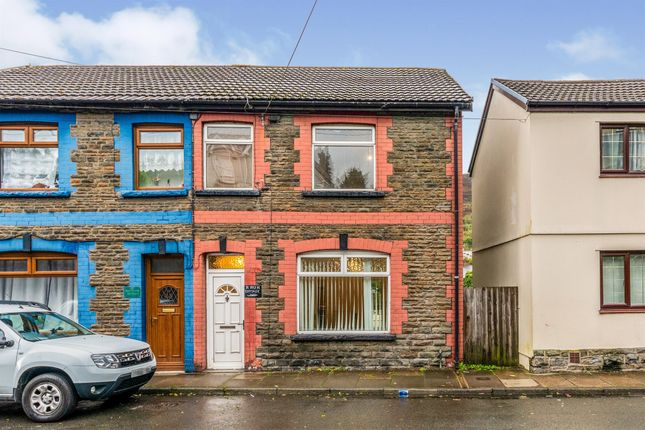 Thumbnail Semi-detached house for sale in Glantaff Road, Troedyrhiw, Merthyr Tydfil