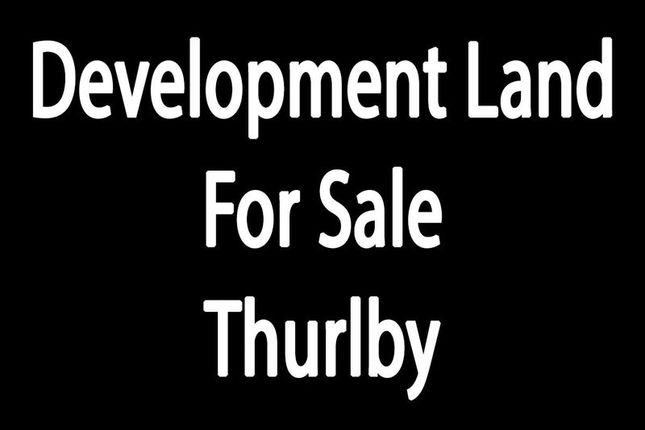 Thumbnail Land for sale in The Green, Thurlby, Bourne