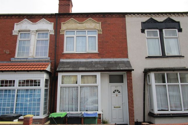Thumbnail Terraced house for sale in Rosefield Road, Smethwick
