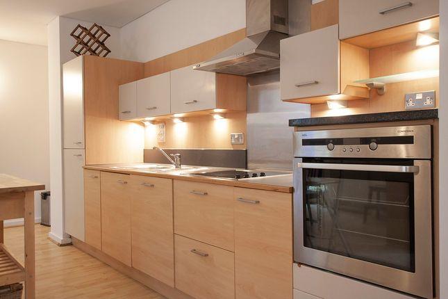 Kitchen Area of West Parkside, London SE10