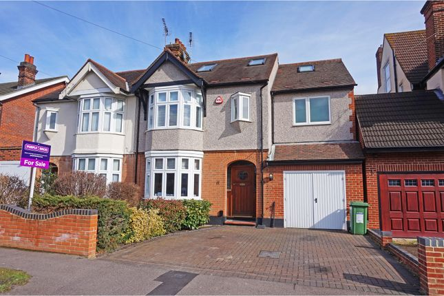 Thumbnail Semi-detached house for sale in Gilbert Road, Romford