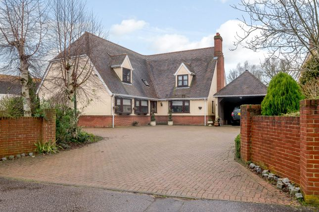Thumbnail Detached house for sale in Cameron Close, Southgate Street, Long Melford, Sudbury