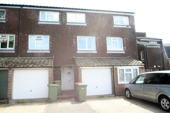 Thumbnail End terrace house to rent in Lawson Close, Custom House, London