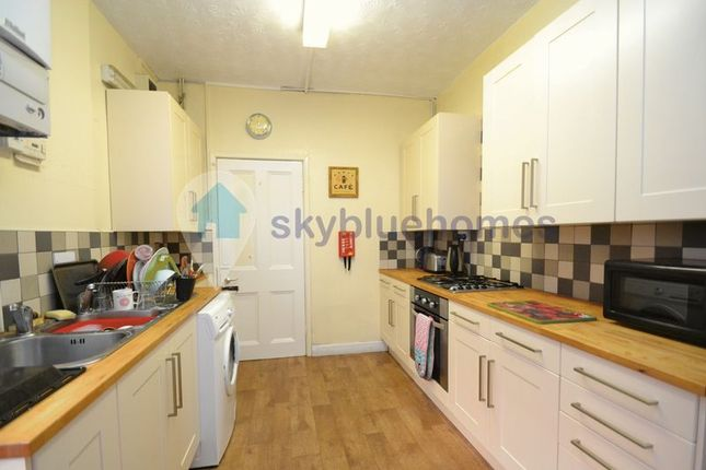 Thumbnail Terraced house to rent in Fosse Road South, Leicester