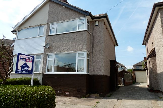 Thumbnail Semi-detached house to rent in Newlands Grove, Sheffield