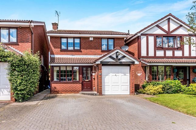 Thumbnail Detached house for sale in Nursery Drive, Penkridge, Stafford