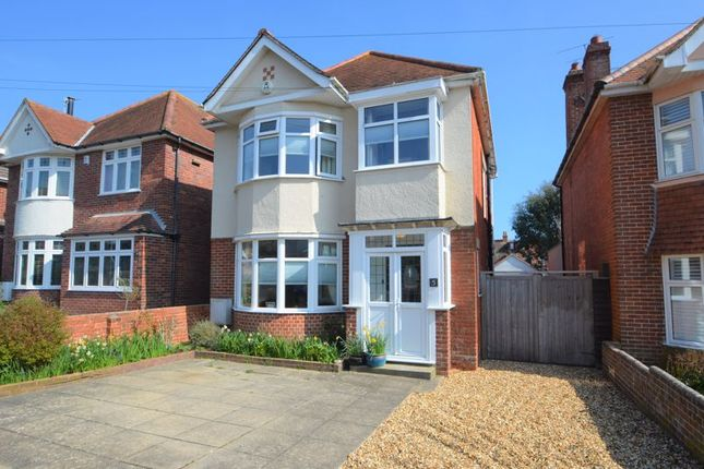 Thumbnail Detached house for sale in Radipole Park Drive, Weymouth