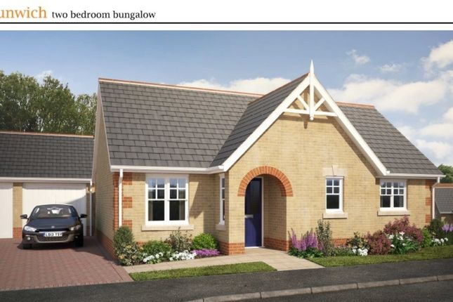 Thumbnail Detached bungalow for sale in Wood Street, Doddington, March